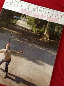 Art Quarterly cover monograph on Jeremy Gardiner