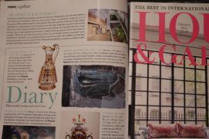 House & Garden Diary by Jessica Doyle on Jurassic Coast exhibition Feb 2015 by Jeremy Gardiner